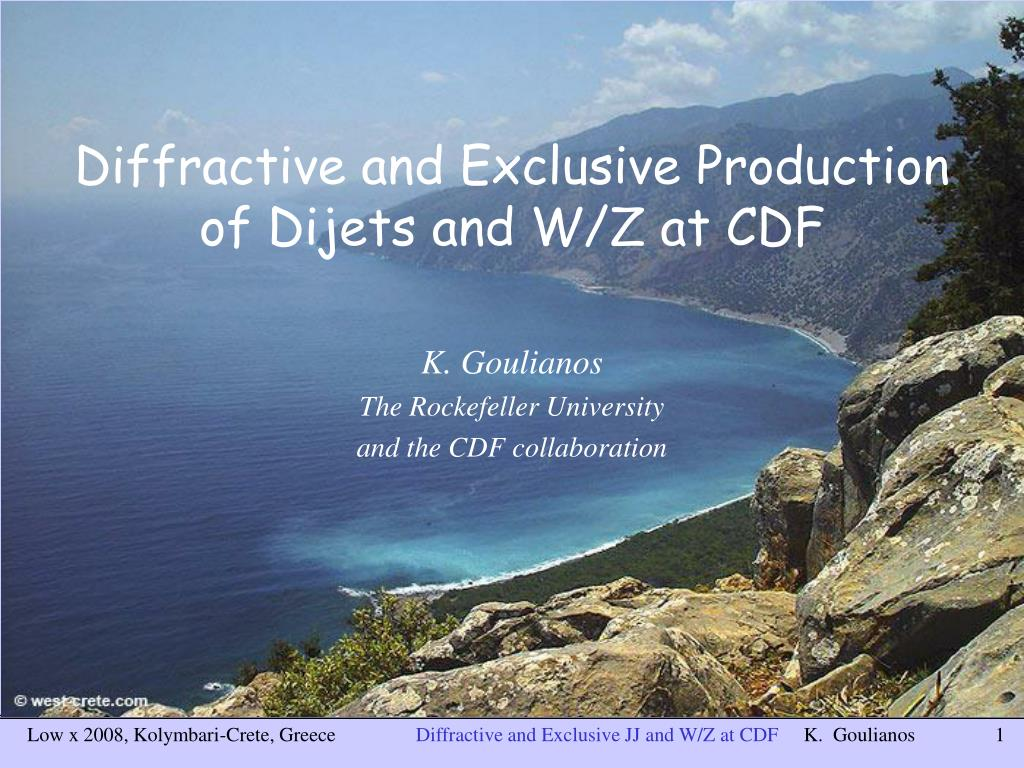 diffractive and exclusive production of dijets and w z at cdf l.