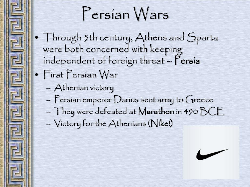 Through 5th century, Athens and Sparta were both concerned with keeping independent of foreign threat –