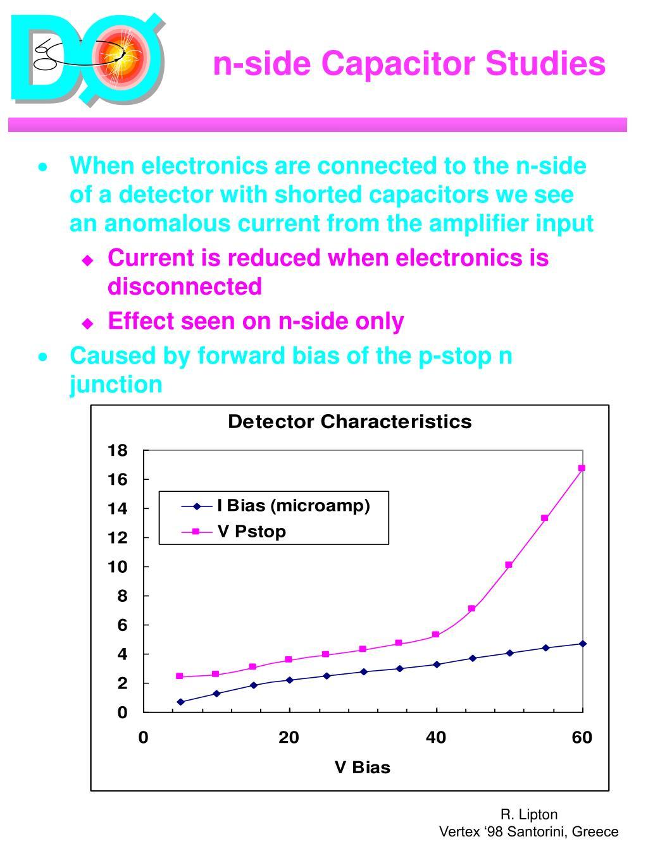 n-side Capacitor Studies