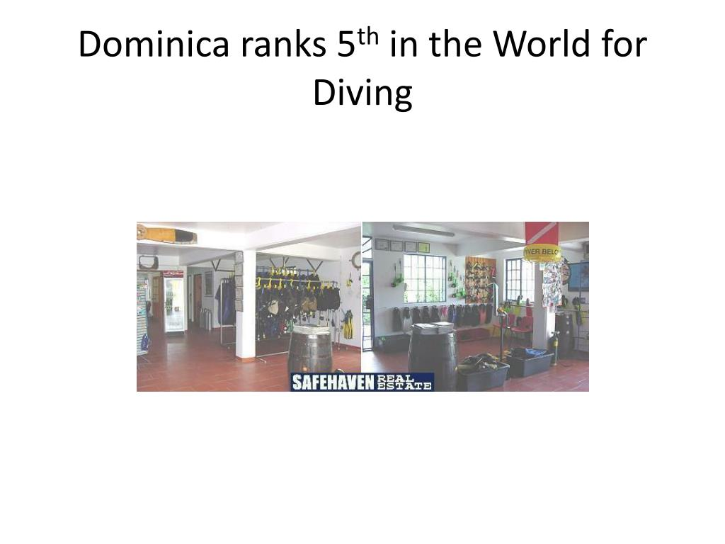 Dominica ranks 5