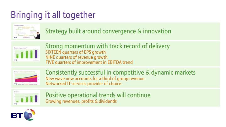 Strategy built around convergence & innovation