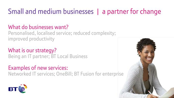 Small and medium businesses