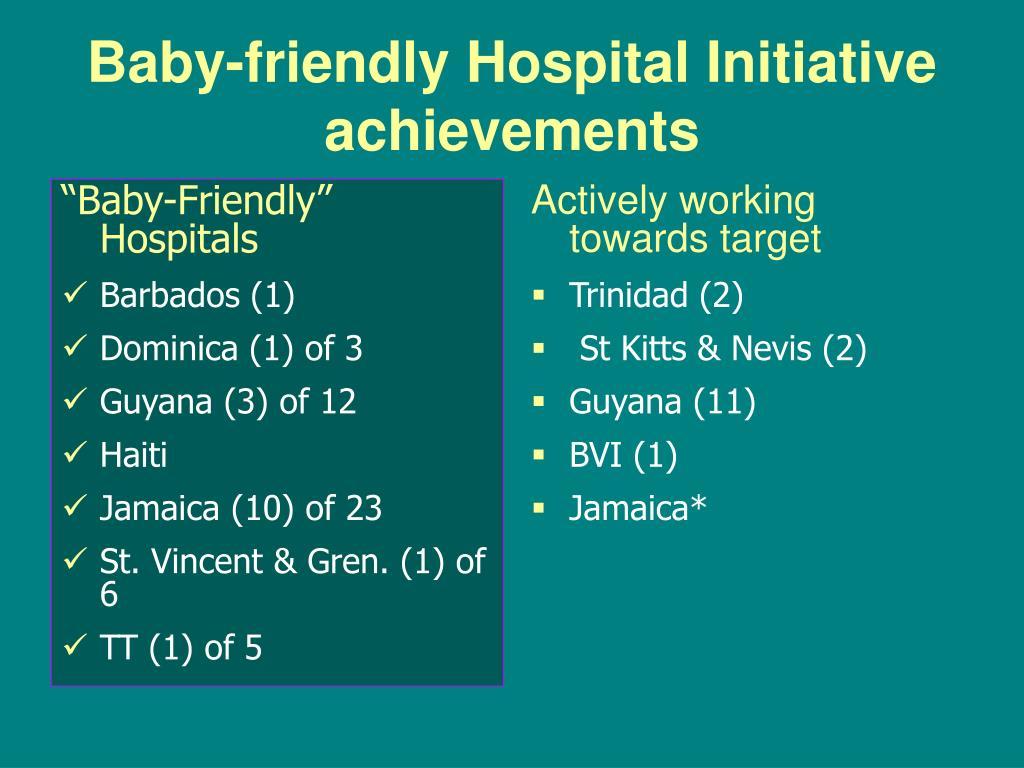 """Baby-Friendly"" Hospitals"