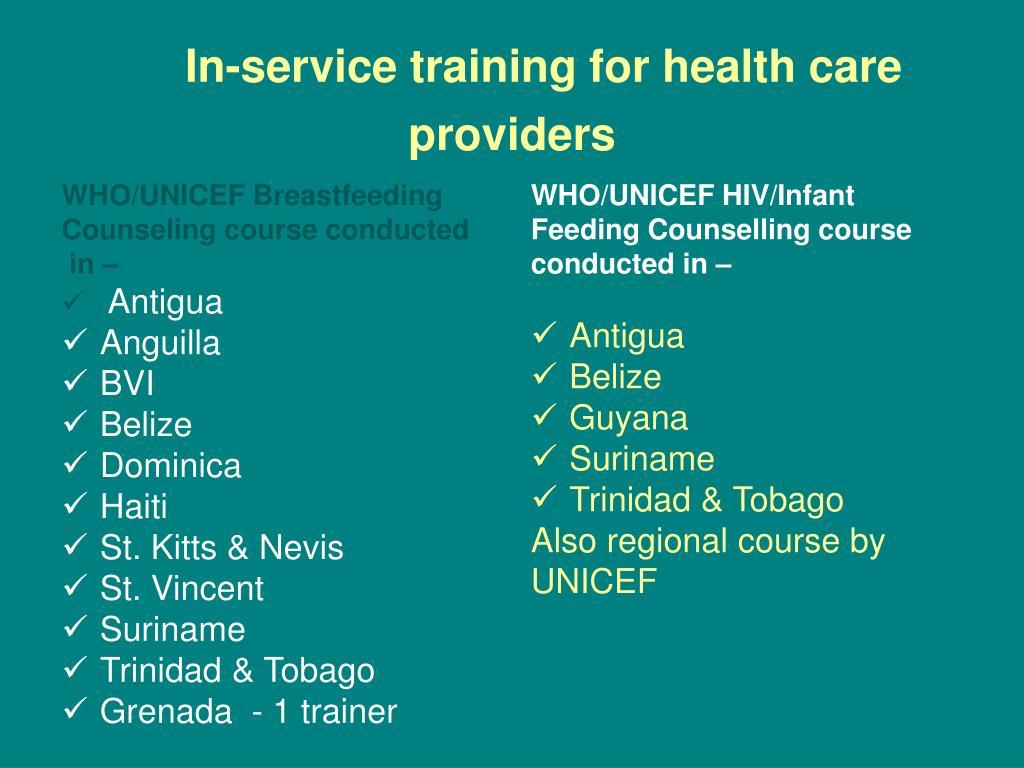 WHO/UNICEF Breastfeeding