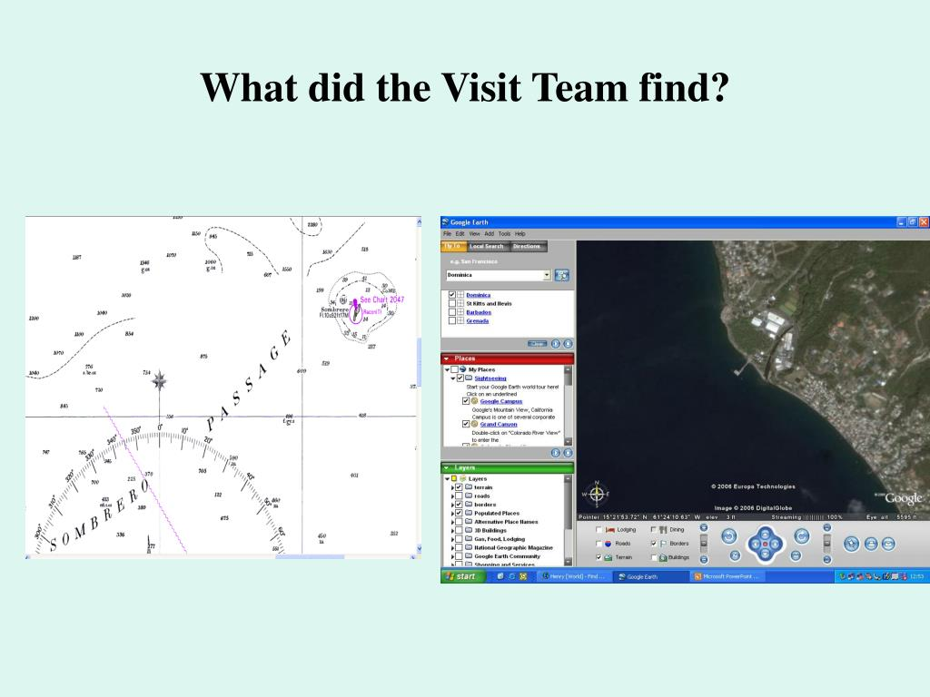 What did the Visit Team find?