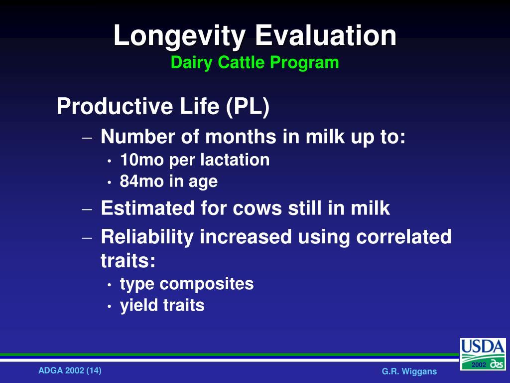 Longevity Evaluation