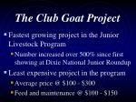 the club goat project91