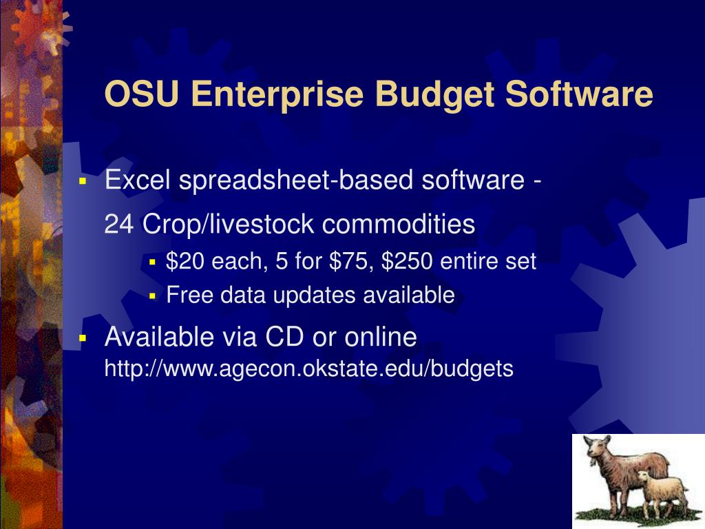 OSU Enterprise Budget Software