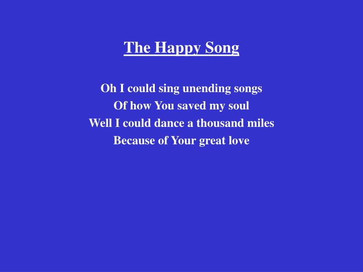 the happy song n.