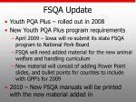 fsqa update