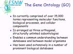 the gene ontology go