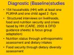 diagnostic baseline studies