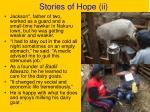 stories of hope ii