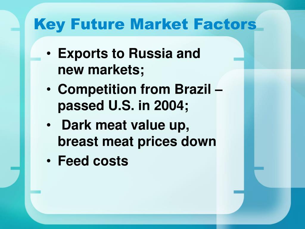 Key Future Market Factors