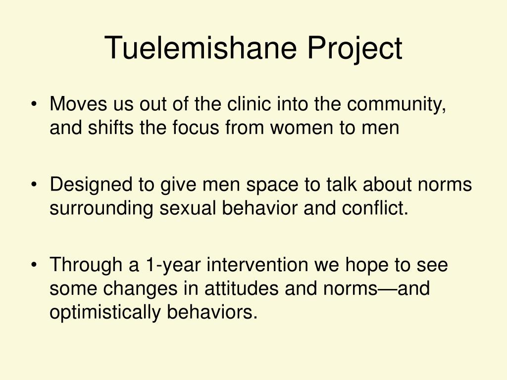 Tuelemishane Project