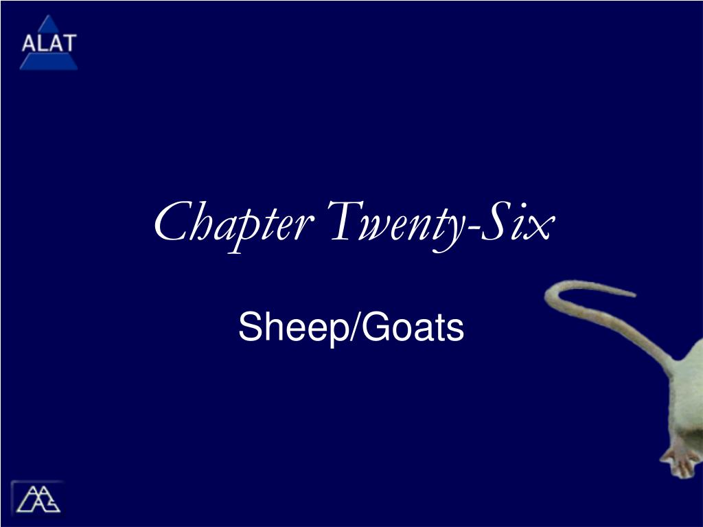 chapter twenty six
