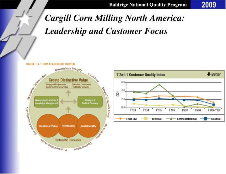 Cargill Corn Milling North America: