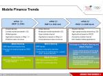 mobile finance trends