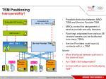 tsm positioning interoperability