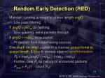 random early detection red11