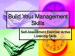 build your management skills