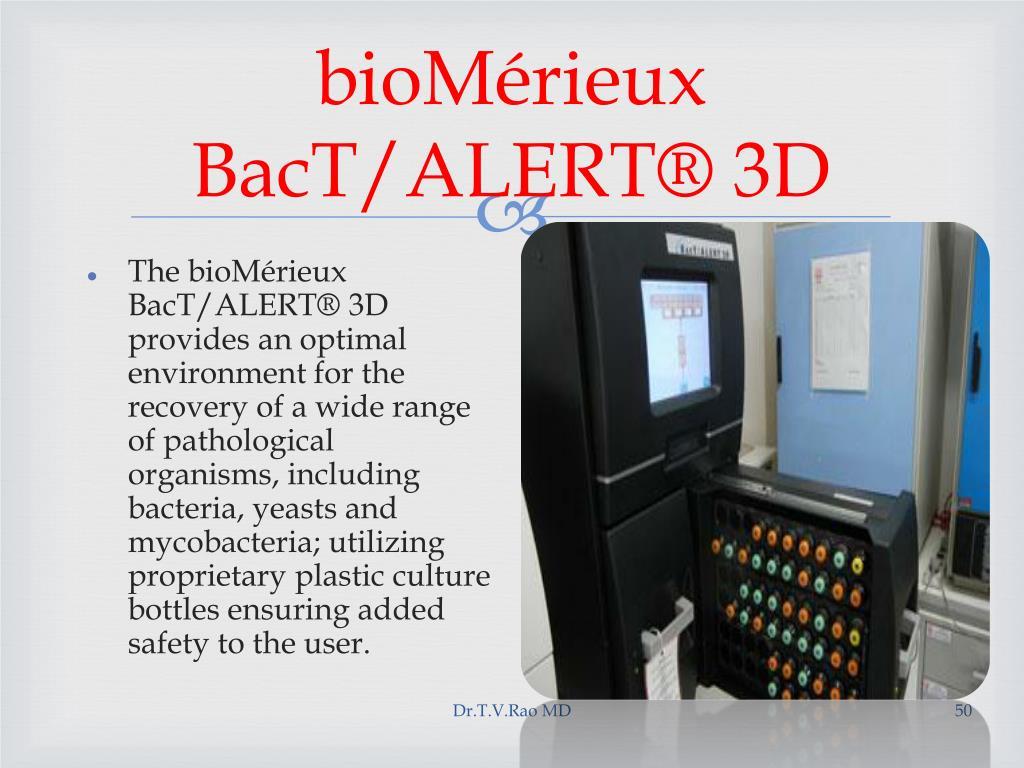 bioMérieux BacT/ALERT® 3D