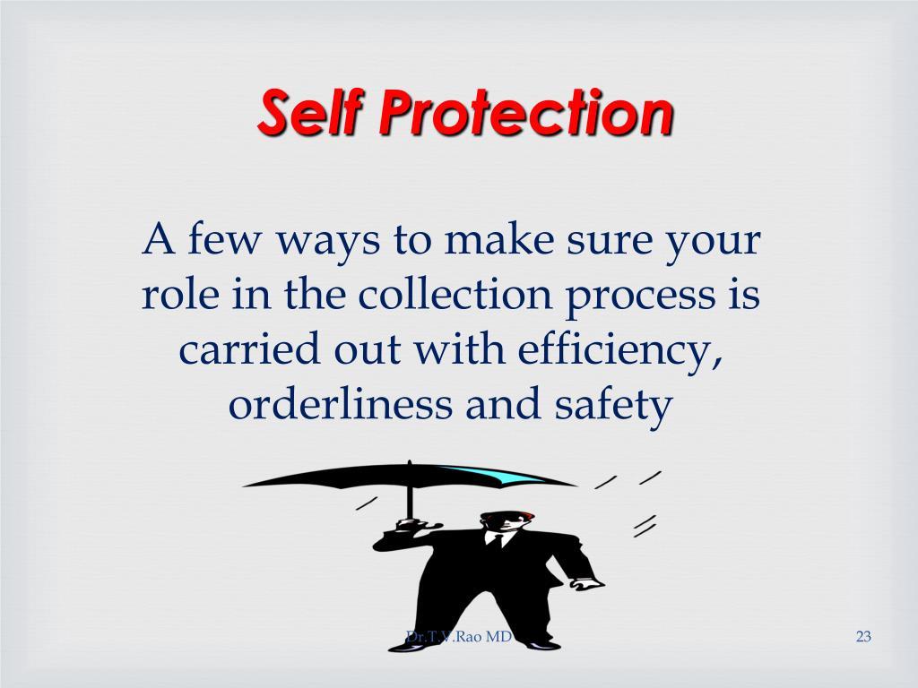 Self Protection