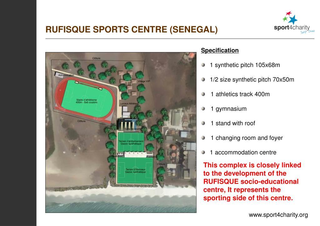 RUFISQUE SPORTS CENTRE (SENEGAL)