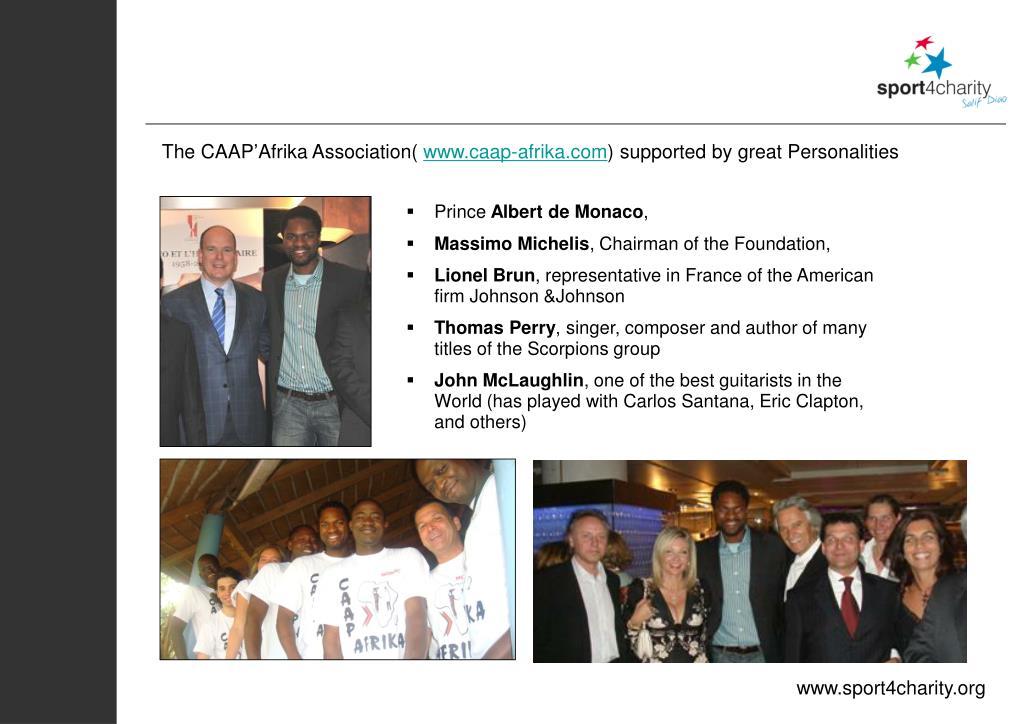 The CAAP'Afrika Association(