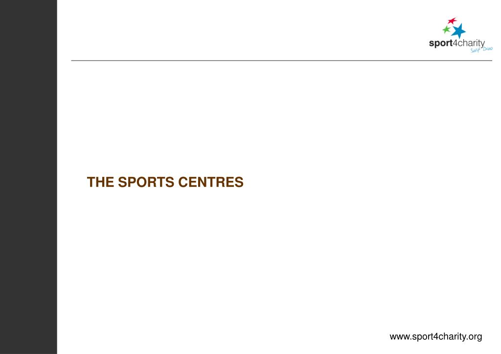 THE SPORTS CENTRES
