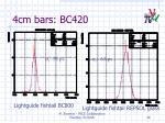 4cm bars bc420