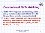 conventional pmts shielding