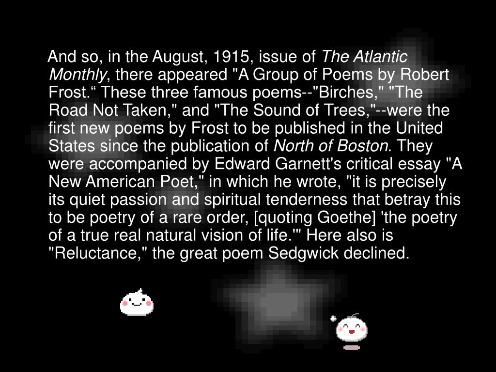 PPT - Robert Frost PowerPoint Presentation - ID:1101939