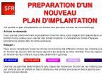 preparation d un nouveau plan d implantation