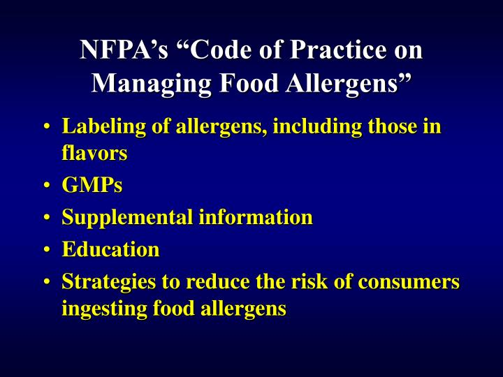 public policy law 108 282 food allergen Browse abebooks' entire selection of books & collectibles offered by independent sellers around the world.