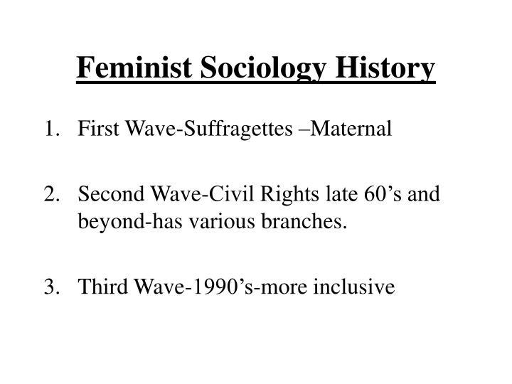Feminist Sociology History