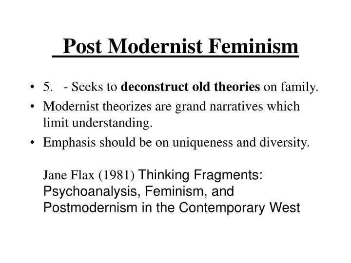 Post Modernist Feminism