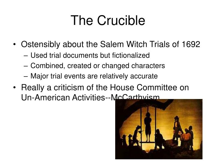 the corrupted theocracy in salem in arthur millers the crucible In the crucible by arthur miller,  corruption in the crucible by arthur miller english literature  corrupted the salem witch trial has influenced.