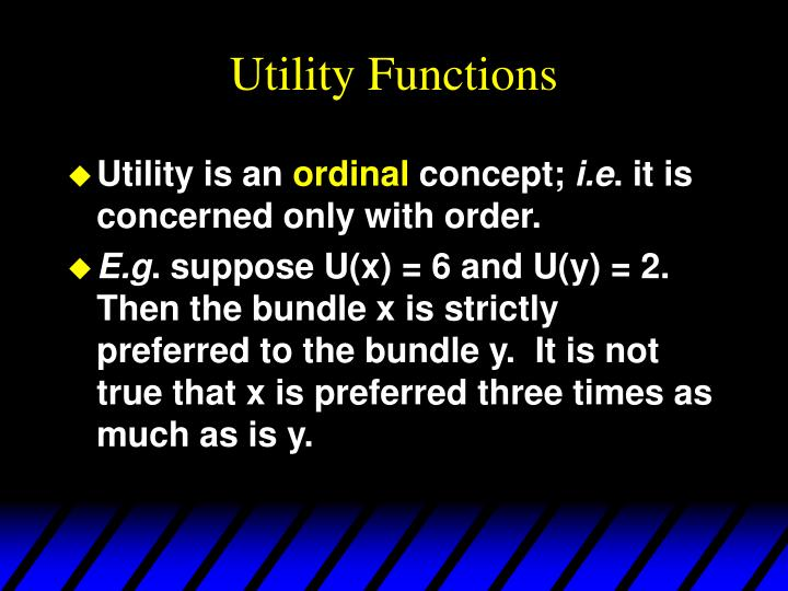 Utility functions1