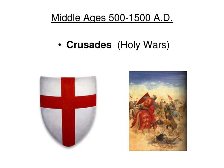 middle ages 500 1500 a d n.
