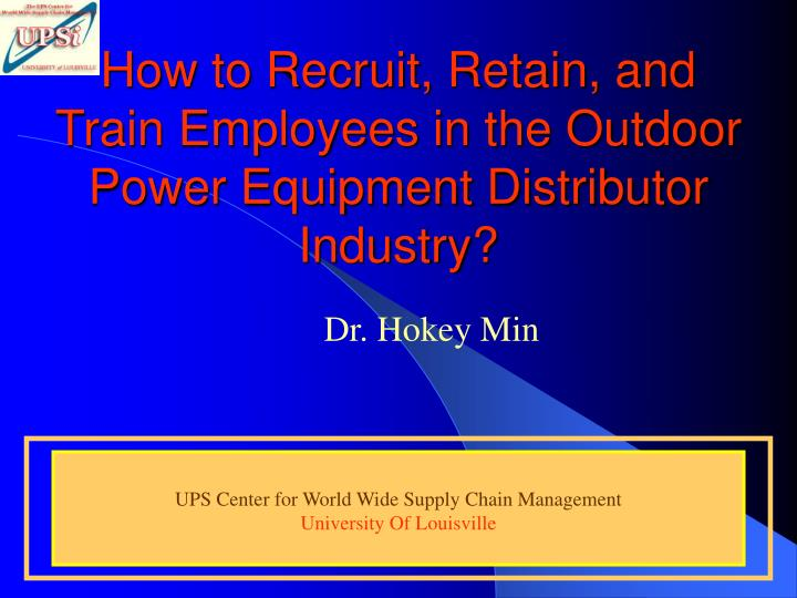 How to recruit retain and train employees in the outdoor power equipment distributor industry