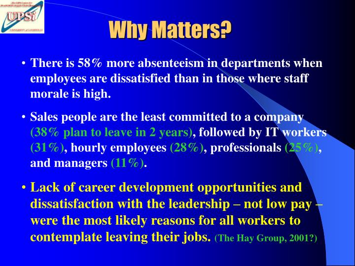 Why Matters?