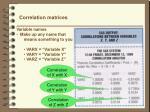 correlation matrices2
