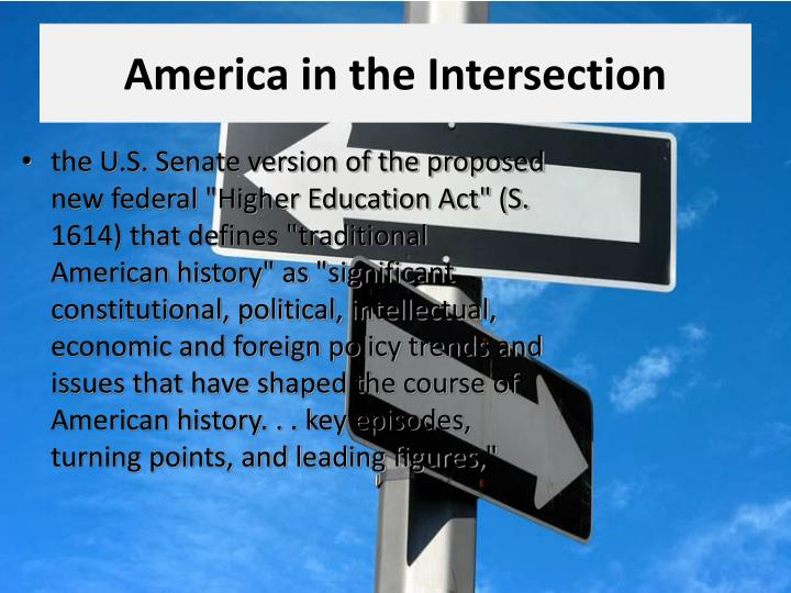 America in the Intersection