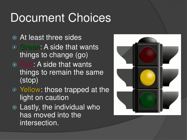 Document Choices