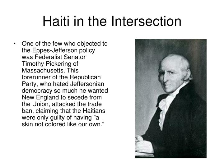 Haiti in the Intersection