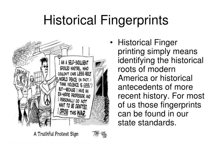 Historical Fingerprints