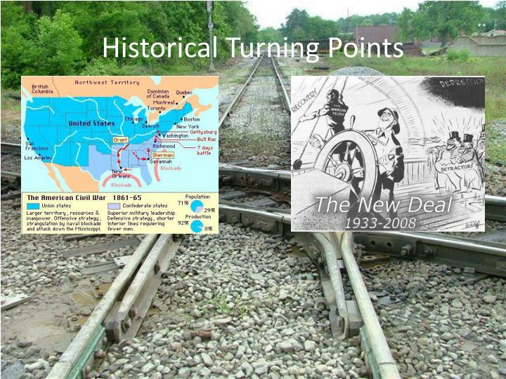 Historical Turning Points