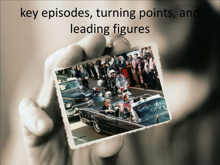 key episodes, turning points, and leading figures