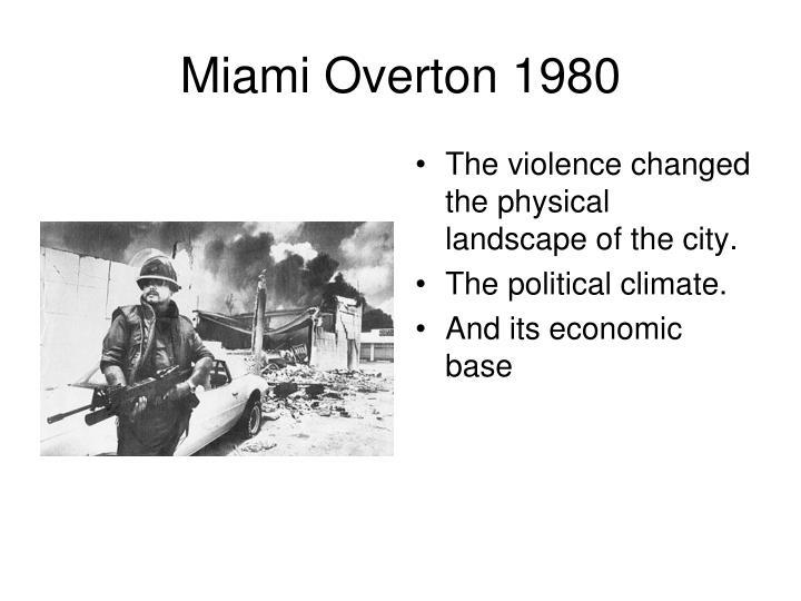 Miami Overton 1980